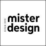 mister design logo